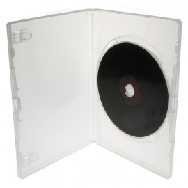 Θήκη DVD Case για 1 Disc 14mm, Clear, 50τμχ