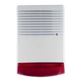 Σειρήνα εξωτερικού χώρου BS-1W, LED, Red