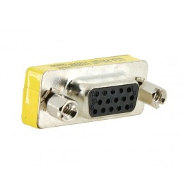 POWERTECH Adapter VGA 15pin Female σε VGA 15pin Female