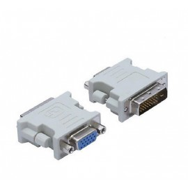 POWERTECH Adapter DVI-D 24+1 pin Male σε VGA Female