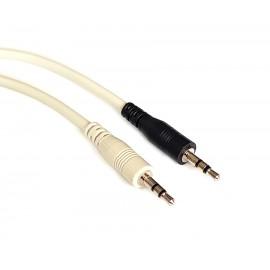 POWERTECH καλώδιο Jack stereo σε Jack stereo 2.5mm, Black, 1.8m