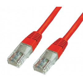 POWERTECH Καλώδιο δικτύου UTP Cat 6e, 1m, Red