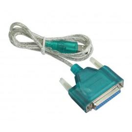 POWERTECH καλώδιο USB 2.0 σε RS232 25pin (F), copper, 1.5m