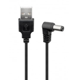 POWERTECH Καλώδιο USB 2.0(M) σε DC 5.5x2.1mm (F) CAB-U121, copper, 1.5m