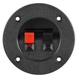 POWERTECH τερματικό ηχείου CAB-V037, Φ75mm, μαύρο