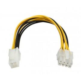 POWERTECH Καλώδιο για MB 4pin (F) σε 8pin (M), 20cm