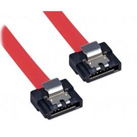 POWERTECH Καλώδιο SATA 7pin σε 7pin, Red, 0.5m