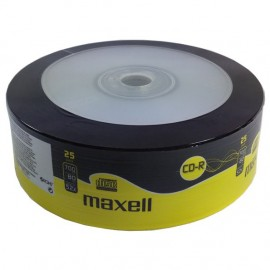 MAXELL CD-R 80min 700mb 52x 25 Spindle
