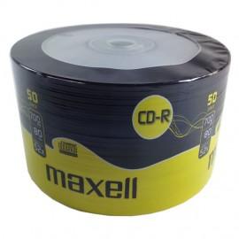 MAXELL CD-R 80min, 700ΜΒ, 52x, 50τμχ Spindle pack
