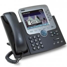 Cisco USED IP Phone 7970G, Dark Gray