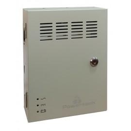 POWERTECH τροφοδοτικό CP1209-20A-B για CCTV-Alarm, DC12V 20A, 9 κανάλια