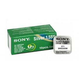 SONY Μπαταρία λιθίου για ρολόγια SR920SW, 1.55V, No371, 10τμχ