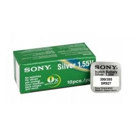 SONY Μπαταρία λιθίου για ρολόγια SR927SW, 1.55V, No395/399, 10τμχ