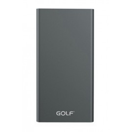 GOLF Power Bank Edge 5 5000mAh, Ultra-thin, 1x USB, Micro - 8pin, γκρι