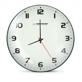 ESPERANZA Ρολόι τοίχου San Francisco EHC018F, 30cm, λευκό