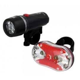 ESPERANZA σετ φωτισμού ποδηλάτου EOT015, με μπαταρίες AAA