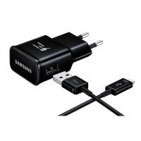SAMSUNG Φορτιστής τοίχου EP-TA20EBECGWW, USB Type-C, 15W 2A, μαύρο
