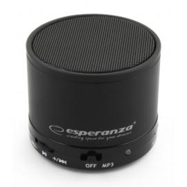 ESPERANZA Φορητό ηχείο Ritmo EP115K, bluetooth/SD Card/FM, 3W, μαύρο
