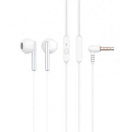 CELEBRAT Earphones G6-WH με μικρόφωνο, 14mm, 3.5mm, 1.2m, λευκά