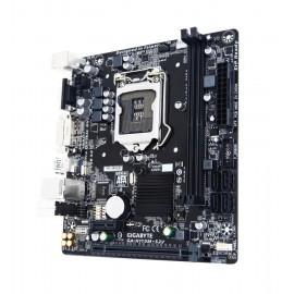 GIGABYTE Μητρική H110M-S2V, 2x DDR4, s1151, USB 3.0, mATX