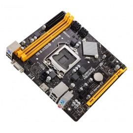 BIOSTAR Μητρική H61MHV2, 2x DDR3, s1155, 8x USB 2.0 HDMI, uATX, Ver. 7.0