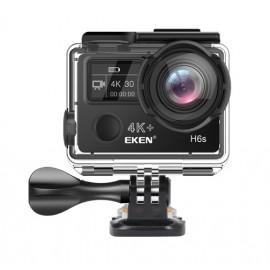 EKEN Action Cam H6s, Ultra HD 4K, 14MP, WiFi, EIS, Waterproof, Black