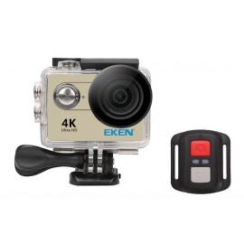 EKEN Action Cam H9R, Ultra HD 4K, 12MP, WiFi, Remote, Waterproof, Gold