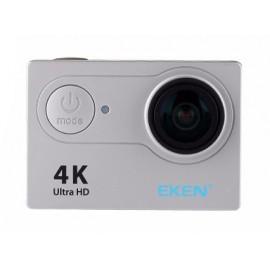 EKEN Action Cam H9R, Ultra HD 4K, 12MP, WiFi, Remote, Waterproof, Silver