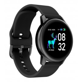 "HIFUTURE smartwatch HiMATE, 1.4"", IP68, heart rate monitor, μαύρο"