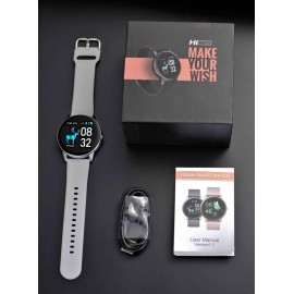 "HIFUTURE smartwatch HiMATE, 1.4"", IP68, heart rate monitor, λευκό"