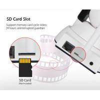 Κάμερα Baby Monitor Wi-Fi HIP322-1M-ZY με υπέρυθρα & ήχο 2 δρόμων, 720p