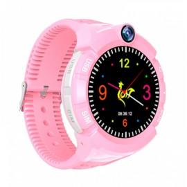 INTIME GPS Παιδικό ρολόι χειρός IT-028, SOS, βηματομετρητής, ροζ