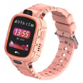 "INTIME smartwatch IT-039, 1.44"", IP67, HD camera, GPS, ροζ"