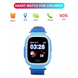 "INTIME smartwatch IT-042, 1.22"", GPS, μπλε"