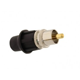 TELECOM RCA male universal connector, with CaP 5 ΤΕΜ.