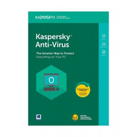 KASPERSKY Anti-Virus 2018, 3 PC, 1 έτος, EU