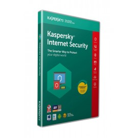 KASPERSKY Internet Security 2019, 1 Άδεια, 1 έτος, EU