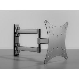"BRATECK Επιτοίχια Βάση Διπλού Βραχίονα KLA26-223 για Monitor 23-42"" 20kg"