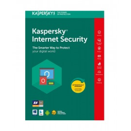 KASPERSKY Internet Security 2018, 3 Άδειες, 1 έτος, EU