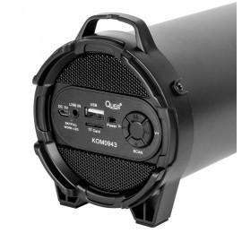 QUER φορητό ηχείο KOM0943 10W bluetooth, FM radio, USB, MicroSD, 1800mAh
