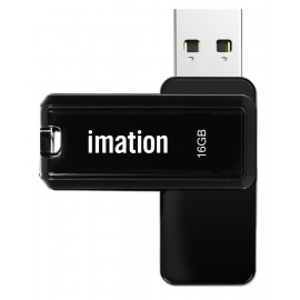 IMATION USB Flash Drive Nano II KR03020001, 16GB, USB 2.0, μαύρο