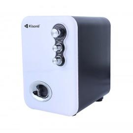 KISONLI Multimedia ηχεία U-2100, 2.1ch, 5W & 2x 3W, USB, λευκό