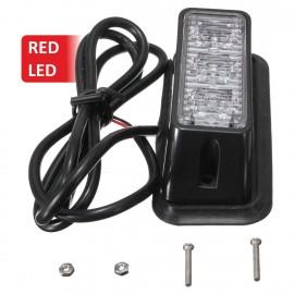 Strobe υψηλής φωτεινότητας με τρία POWER LED, GEN III, Κόκκινο χρώμα