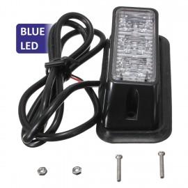 Strobe υψηλής φωτεινότητας με τρία POWER LED, GEN III, Μπλε χρώμα