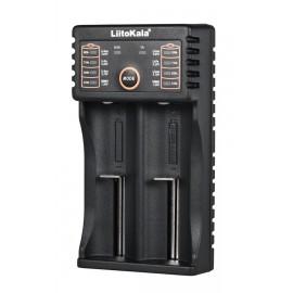 LIITOKALA φορτιστής LII-202 για μπαταρίες NiMH/CD, Li-Ion, IMR, 2 slots