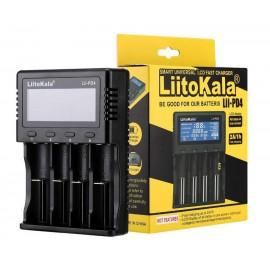 LIITOKALA φορτιστής LII-PD4 για μπαταρίες NiMH/CD, Li-Ion, IMR, 4 slots