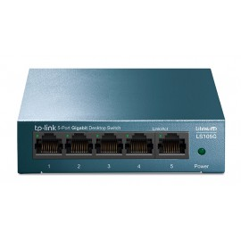 TP-LINK Desktop Switch LS105G, 5-port 10/100/1000Mbps, Ver. 1.0
