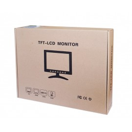 "POWERTECH Οθόνη LCD-TFT, 8"", VGA (new)"