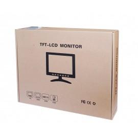 "POWERTECH Οθόνη LCD-TFT 8"", VGA, με βάση"
