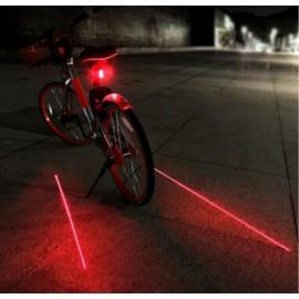 MACLEAN ENERGY Οπίσθιος φωτισμός ποδηλάτου MCE208, με 2 laser